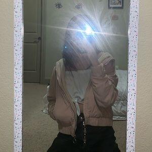 pink corduroy f21 jacket 💞